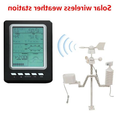 Weather Station Wifi Wireless Professional Solar Power Weath