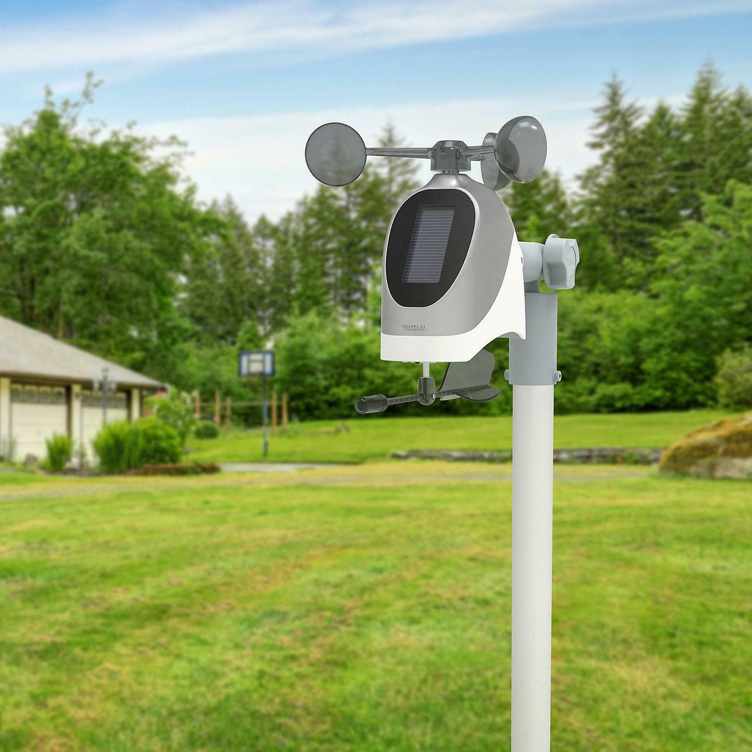 La S81120 Wireless Weather Station with Temperature