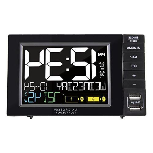 s85906 dual alarm clock