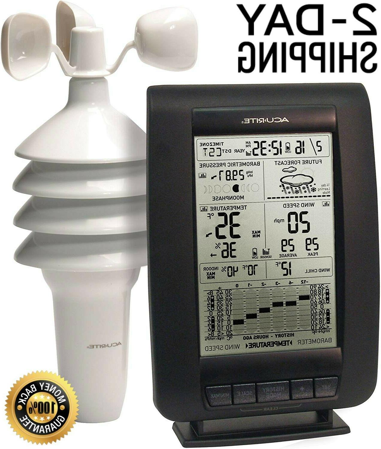 Wireless Ambient Weather Station Smart Digital Indoor Outdoo
