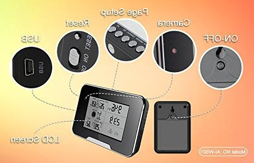 Camera Weather Station Camera Wi Fi Live View Sd Card Recording