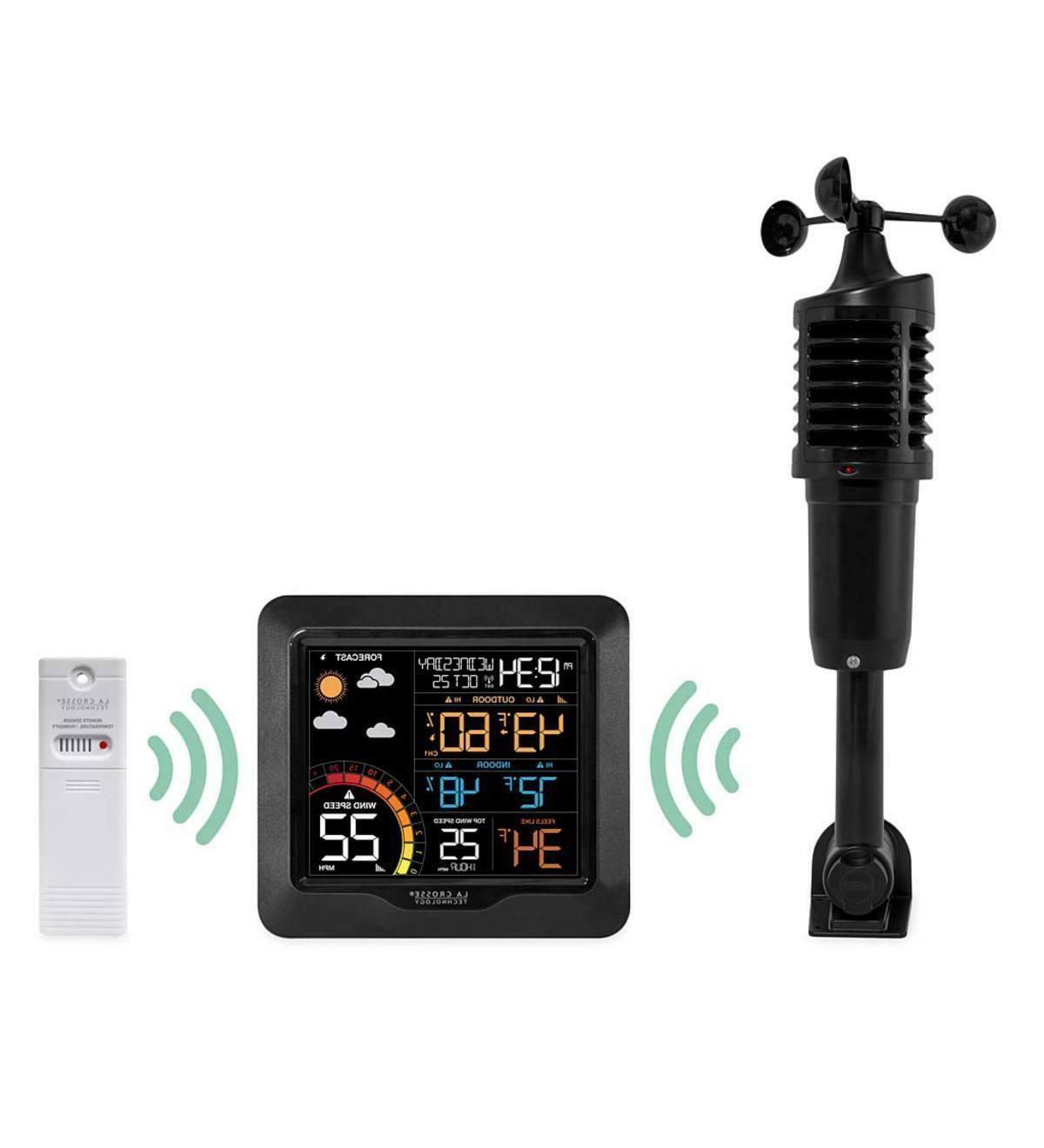 La Crosse Color Weather Station, Black