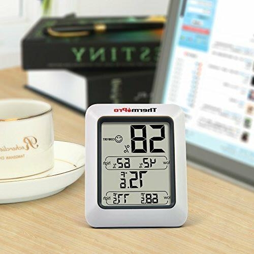 Temperature and Humidity Monitor Meter Weather Station Indoo