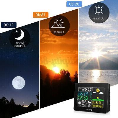 Digoo Digital Weather In/Outdoor Forecast