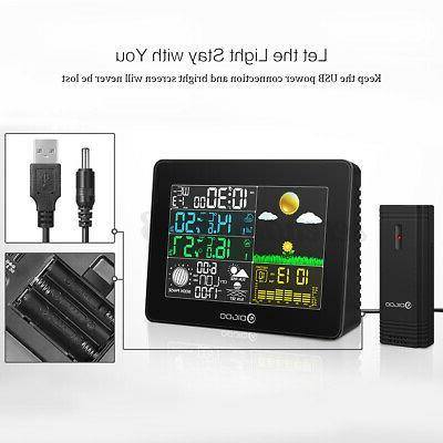 Digoo TH8868 Digital USB Weather Forecast