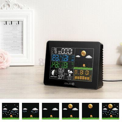 Digoo USB Weather Forecast Clock US