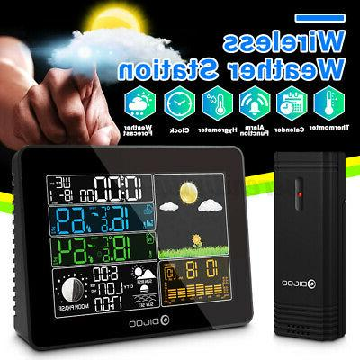 th8868 digital usb weather station in outdoor