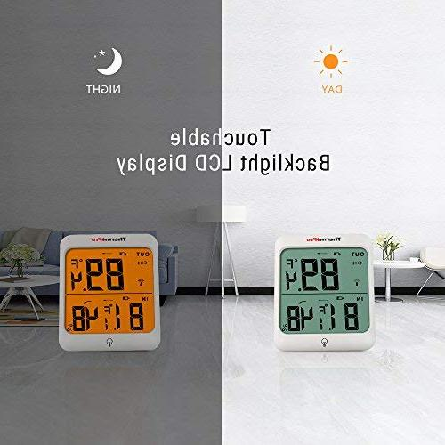 ThermoPro TP63 Digital Wireless Hygrometer Indoor Thermometer Wireless Temperature and Monitor with Waterproof Range