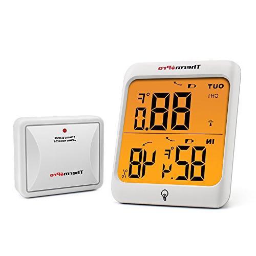 tp63 digital wireless hygrometer indoor outdoor thermometer