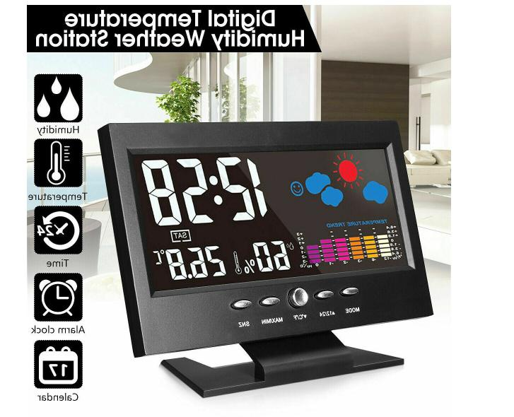 Weather Station Digital Voice LCD