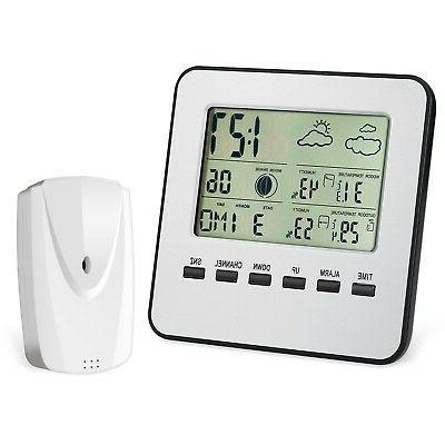 AMIR Upgraded Weather Station, Wireless Digital Indoor Outdo