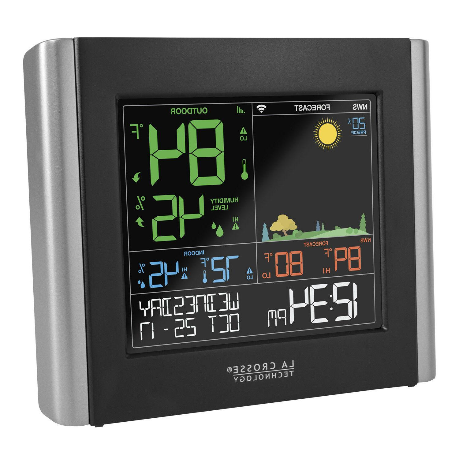 V10-TH Crosse Remote Monitoring Color Weather Station