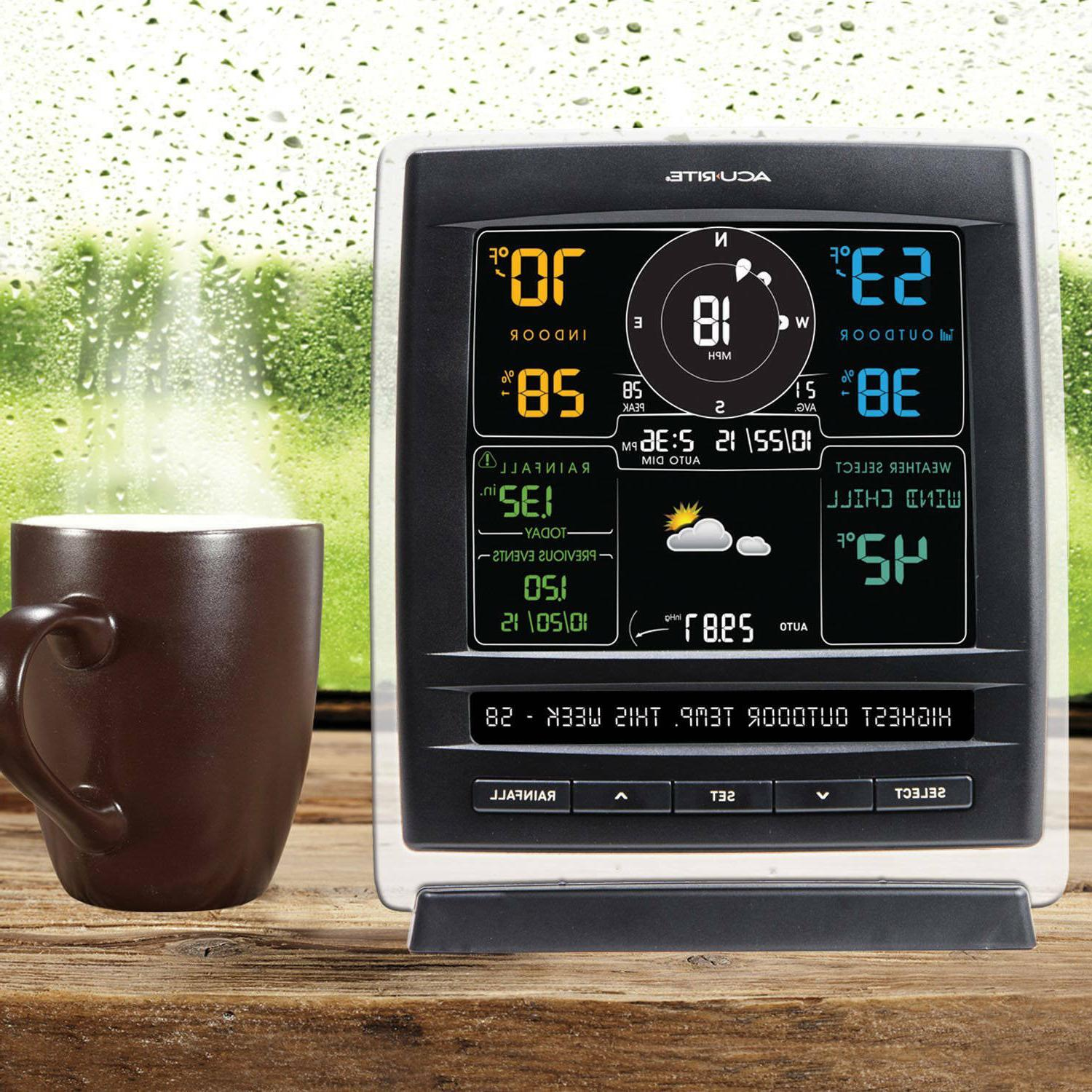 Weather Station 5 1 Personal Forecast Yard Sensor Outdoor Measure Temperature