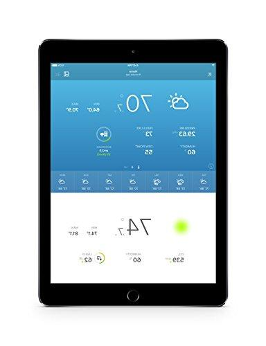 Netatmo Weather Outdoor with Sensor, Compatible Alexa