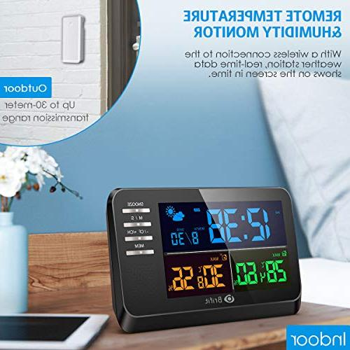 AMIR with Alarm Function, with Sensor, Indoor Thermometer for
