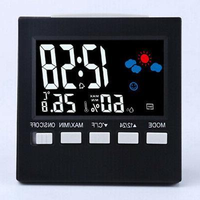 Digital LCD Wireless Station Calendar