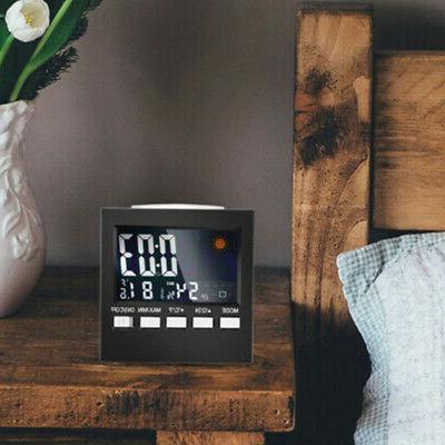 Digital Indoor Wireless Calendar Thermometer