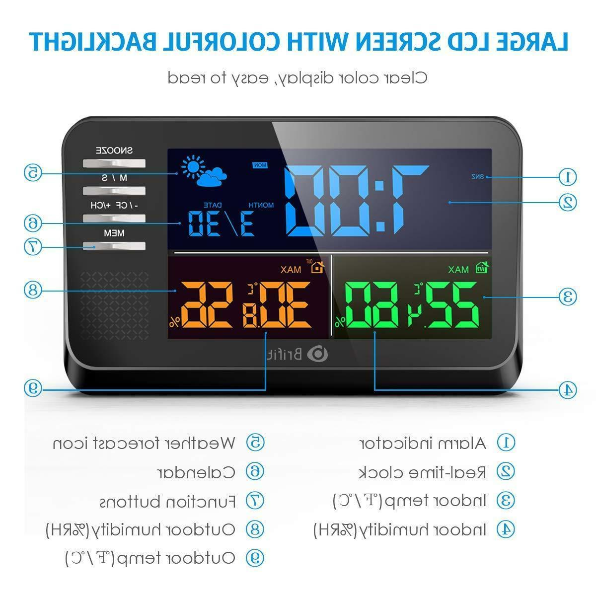 AMIR Station, Color Display Clock with Alarm