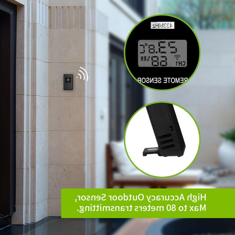 Baldr Indoor Outdoor Thermometer Sensor Forecast