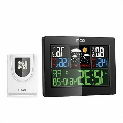 weather station wireless indoor outdoor weather instruments
