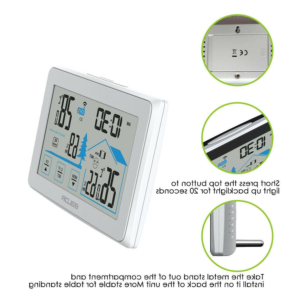 Baldr Weather Station Thermometer Outdoor Touch