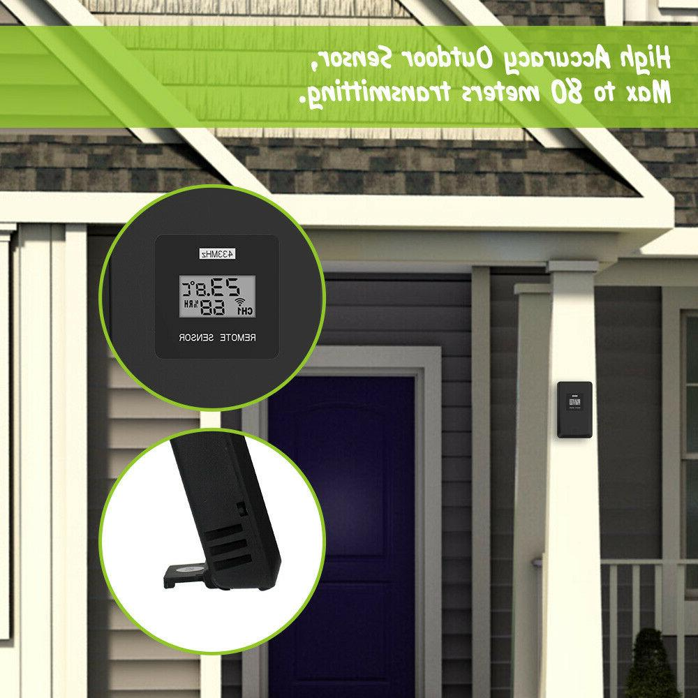 Baldr Weather Station Thermometer Touch