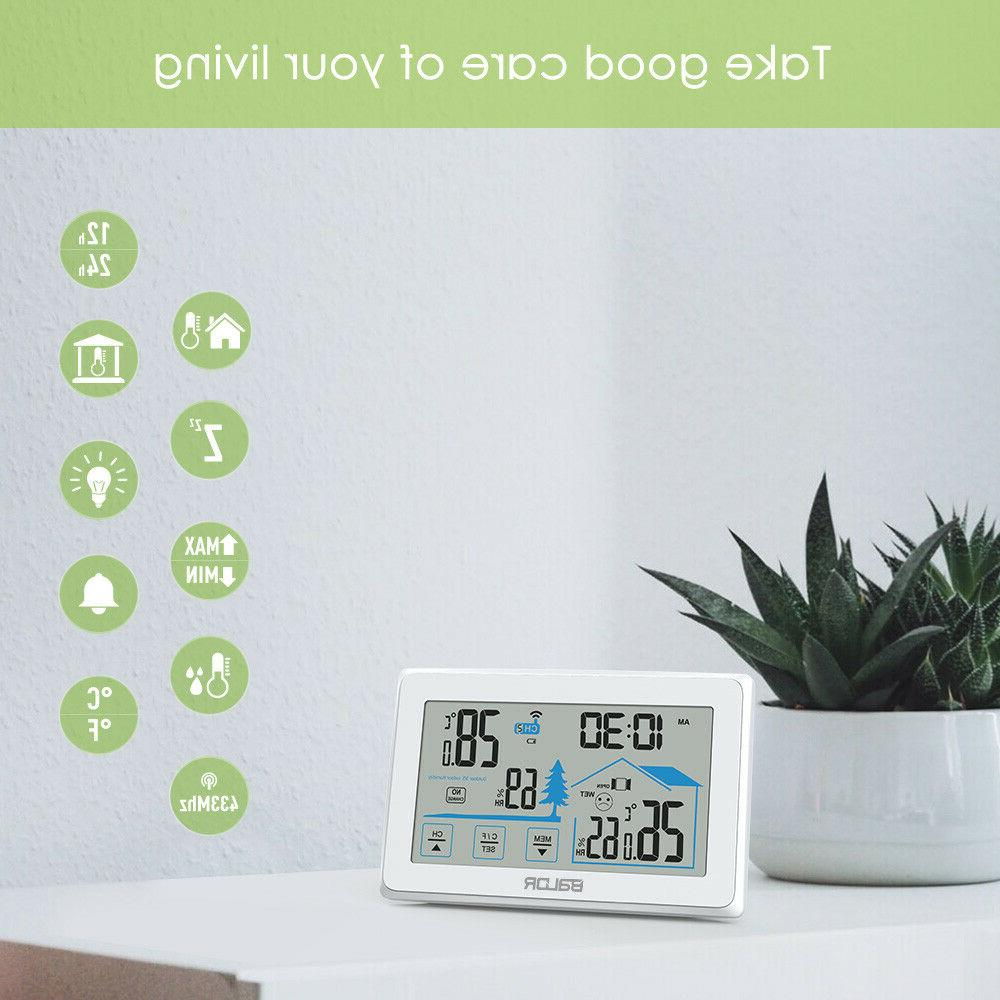 Baldr Weather Station Wireless Thermometer Touch