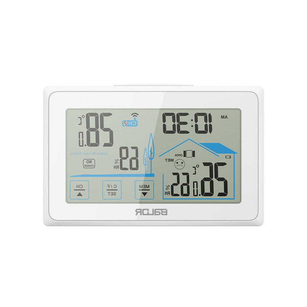 Baldr Station Thermometer Outdoor Touch Screen