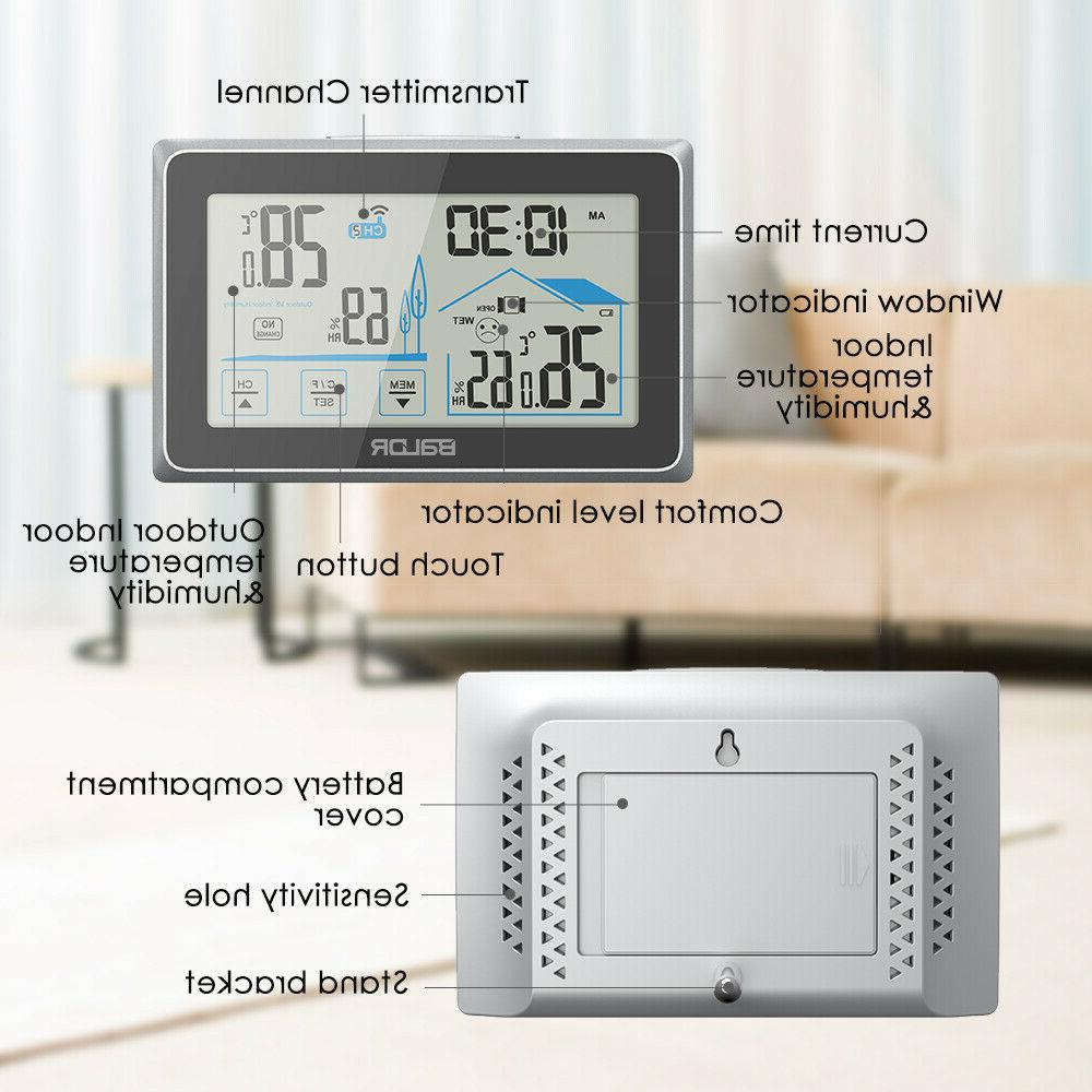 Baldr Weather Thermometer Indoor Outdoor Touch Screen