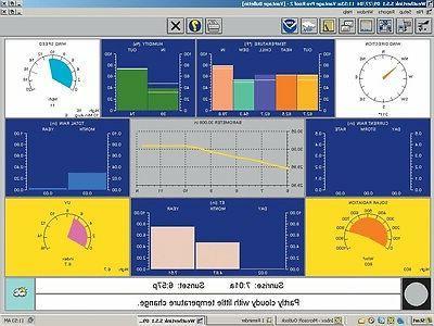 weatherlink windows software and datalogger 6510usb