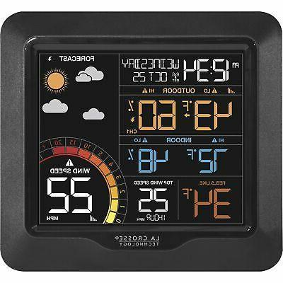 wind speed weather station