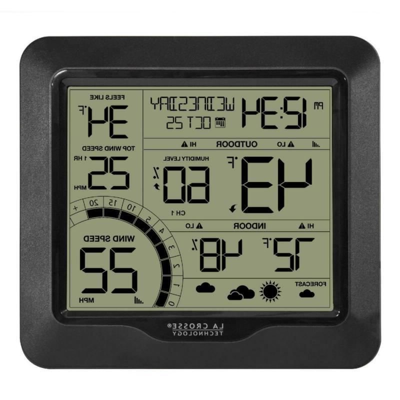 wind speed weather station home indoor outdoor