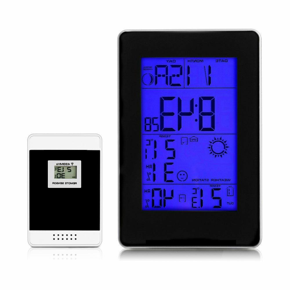 Wireless Digital Weather Station Indoor Outdoor Thermometer