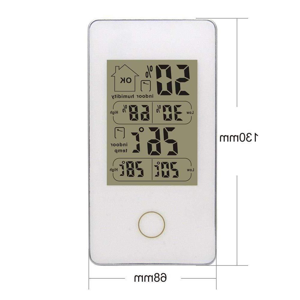 Wireless Touch Outdoor <font><b>Weather</b></font> Sensor -20C-60C