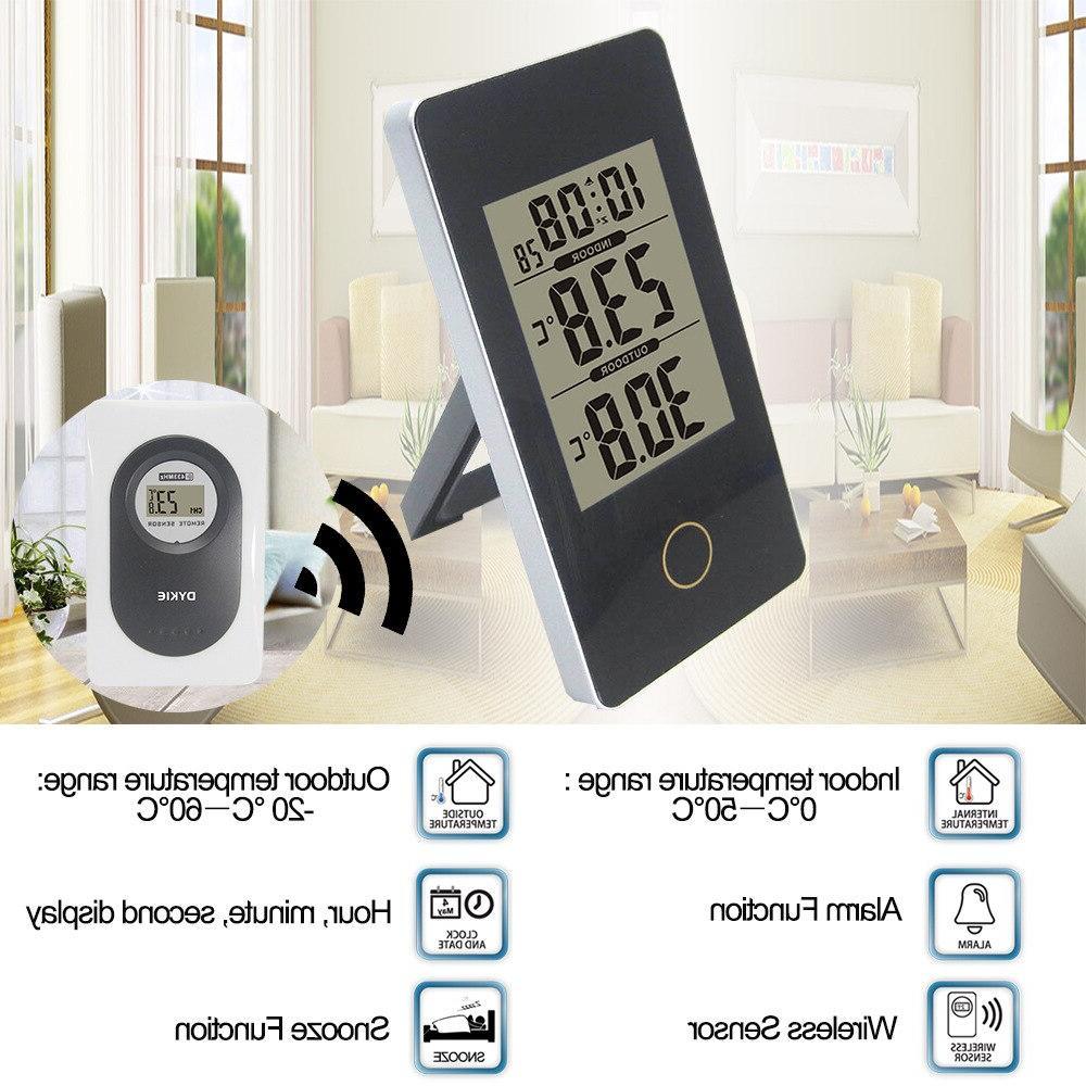Wireless <font><b>Weather</b></font> <font><b>Station</b></font> Screen Outdoor Sensor -20C-60C