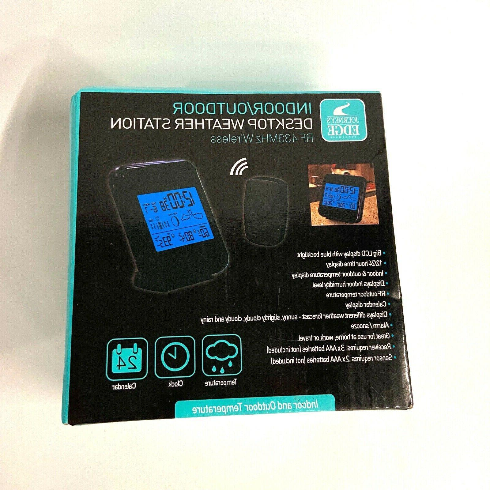 wireless rf indoor desktop weather