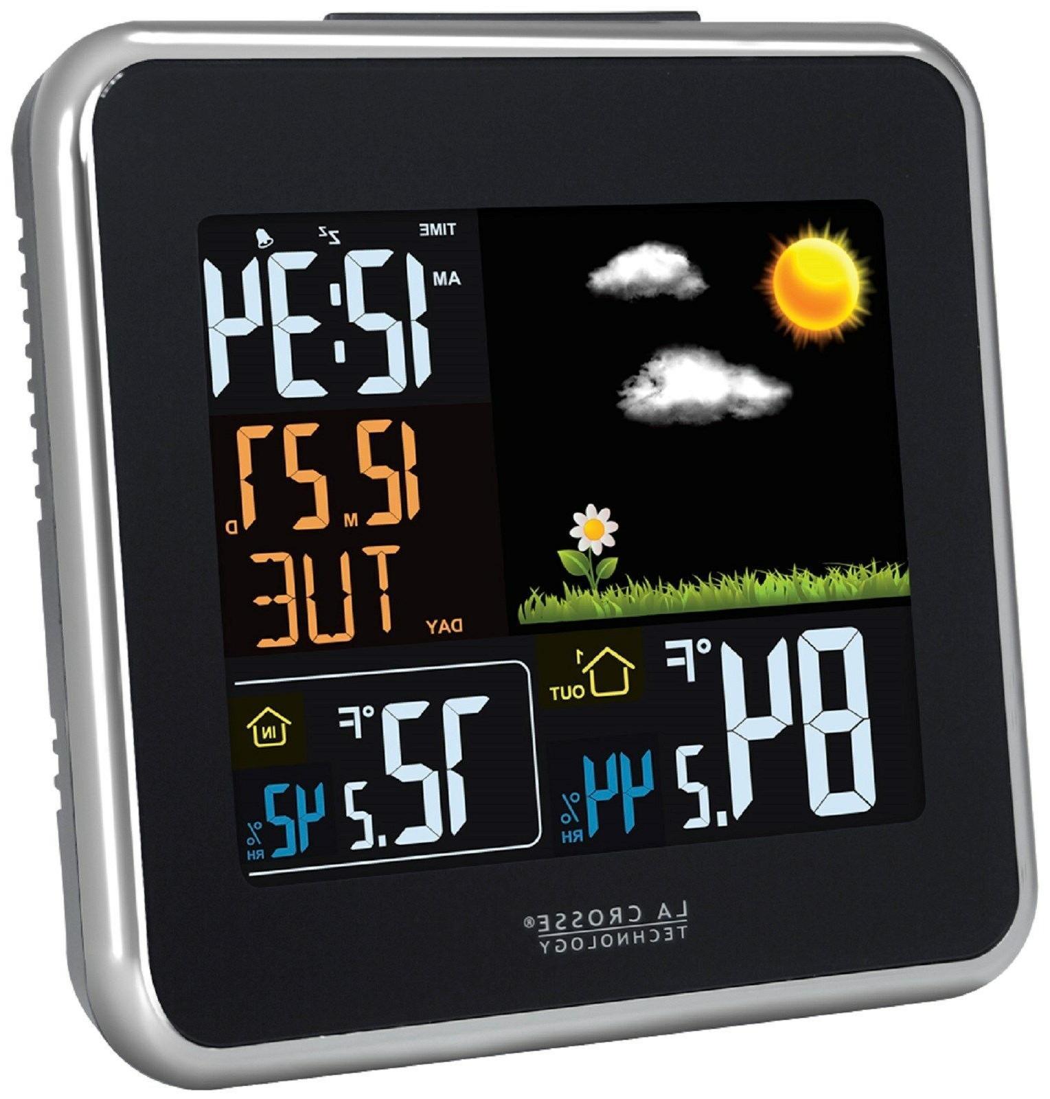 La Technology Color Weather Forecast - Desktop
