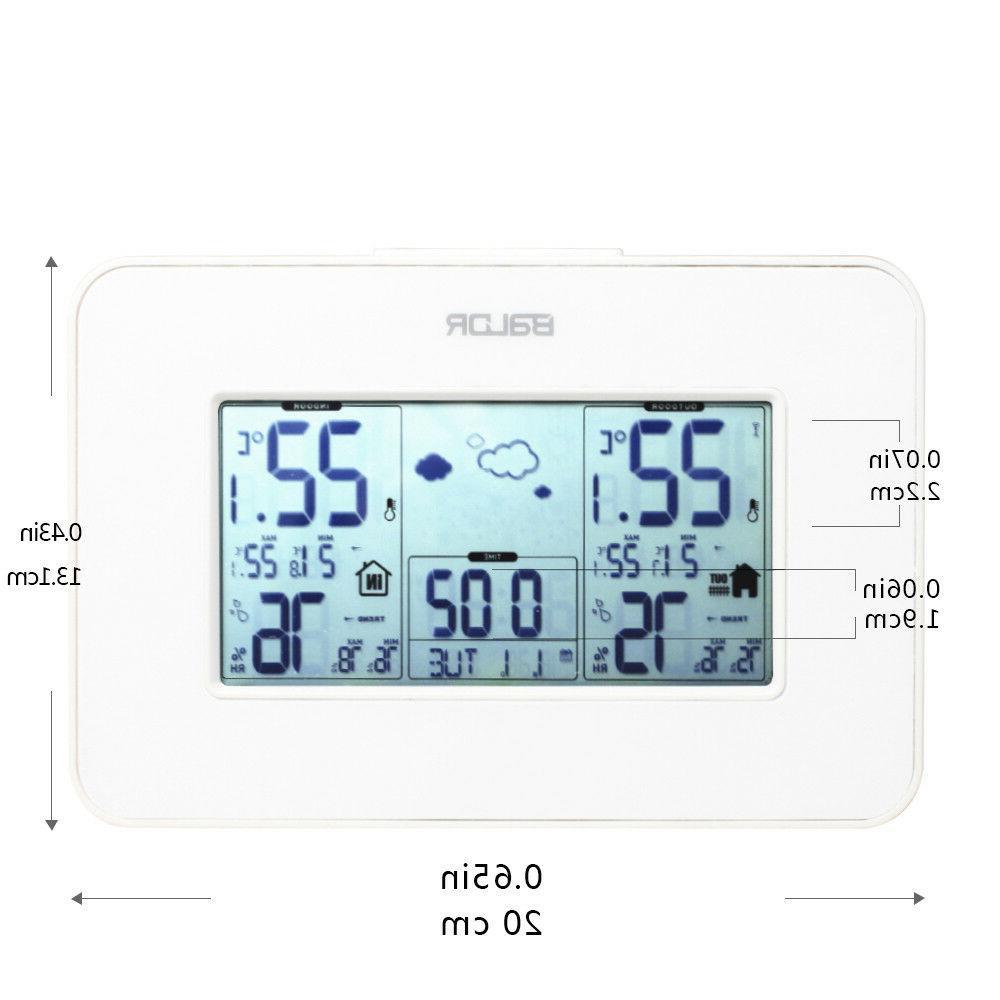 Baldr Wireless Station Digital Humidity Alarm Clock