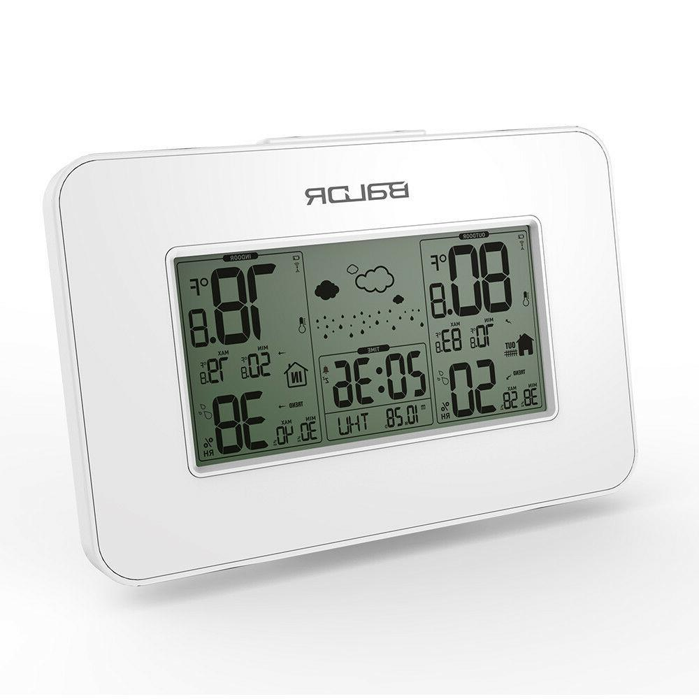 wireless weather station digital temperature humidity sensor
