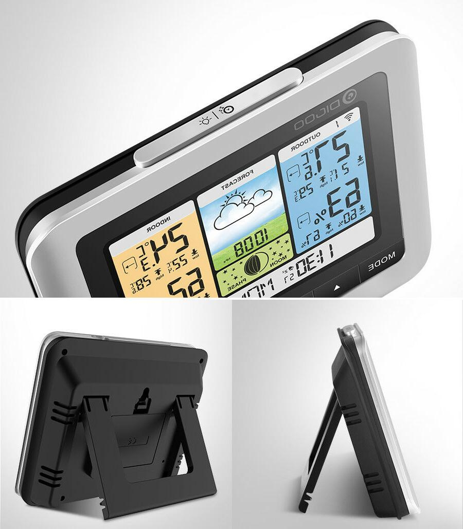 DIGOO Wireless Weather Station LCD w/ Sensor