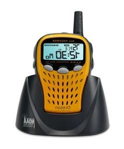 Oregon Scientific WR113 Weather Radio with Temperature and F