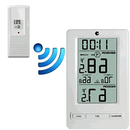 ws 0802 wireless thermometer