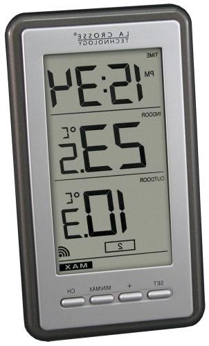 WS-9160U-IT - Digital Wireless Thermometer in Finish