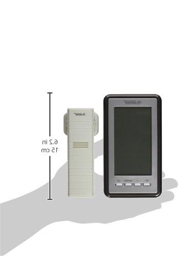 WS-9160U-IT - Indoor/Outdoor Wireless Thermometer Finish