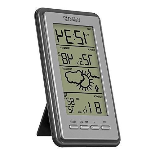 La Digital Forecast Thermometer Temp &