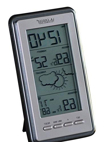 La Digital Forecast Thermometer Temp & Humidity