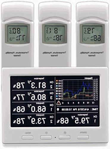 ws thermo hygrometer wireless monitor