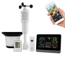 La Crosse 5-in-1 Weather Station Indoor Outdoor Temperature
