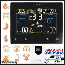 La Crosse Tech. 308-1425B-INT Vertical Wireless Color Weathe
