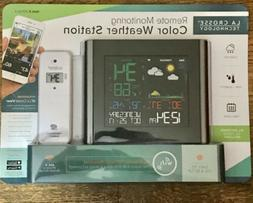 La Crosse Weather Station with Remote Sensor Colored LCD Dis